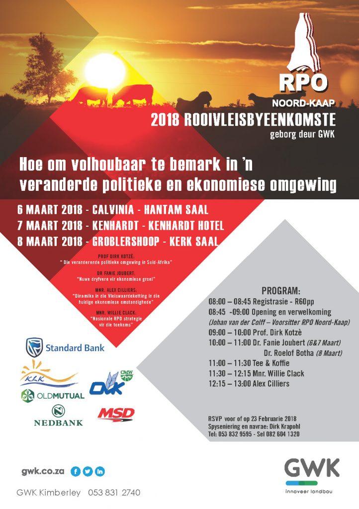 RPO NK - Rooivleisdag 2018